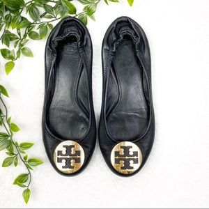 Tory Burch |  Black Ballet Flats